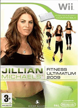 Jillian Michaels' Fitness Ultimatum 2009 (Wii Balance Board Compatible) Wii Cover Art