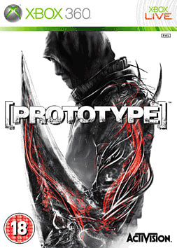 Prototype Xbox 360 Cover Art