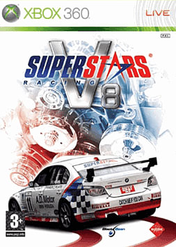 Superstars V8 Racing Xbox 360 Cover Art