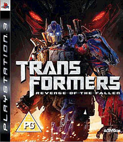 Transformers: Revenge of The Fallen PlayStation 3 Cover Art