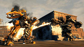 Transformers: Revenge of The Fallen screen shot 2