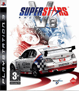 Superstars V8 Racing PlayStation 3 Cover Art