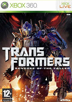 Transformers: Revenge of The Fallen Xbox 360 Cover Art