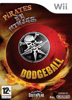 Pirates Vs Ninjas Dodgeball Wii Cover Art