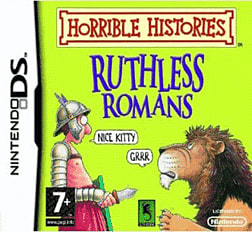 Horrible Histories: Ruthless Romans DSi and DS Lite Cover Art