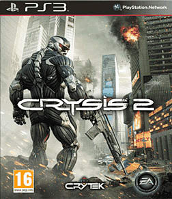 Crysis 2 PlayStation 3 Cover Art