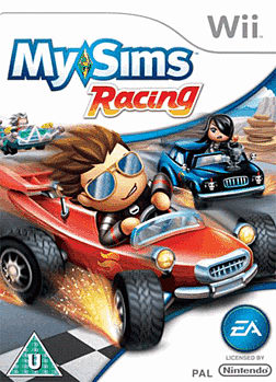 MySims Racing Wii Cover Art