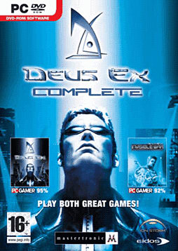 Deus Ex Complete PC Games and Downloads Cover Art