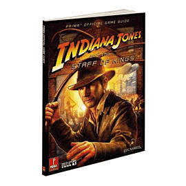 Indiana Jones & the Staff of Kings Strategy Guide Strategy Guides and Books