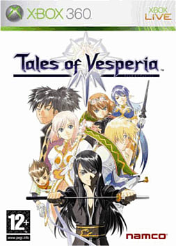 Tales of Vesperia Xbox 360 Cover Art