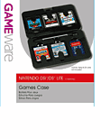GAMEware DS and DSi Media Case Accessories