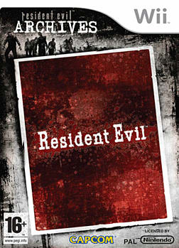 Resident Evil Archives Wii Cover Art