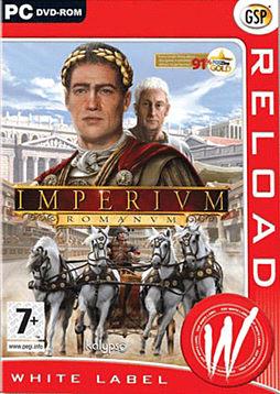 Imperium Romanum PC Games Cover Art