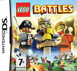 LEGO Battles DSi and DS Lite Cover Art