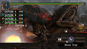 Monster Hunter: Freedom Unite screen shot 1