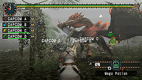 Monster Hunter: Freedom Unite screen shot 2