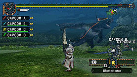 Monster Hunter: Freedom Unite screen shot 3