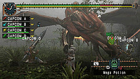 Monster Hunter: Freedom Unite screen shot 4
