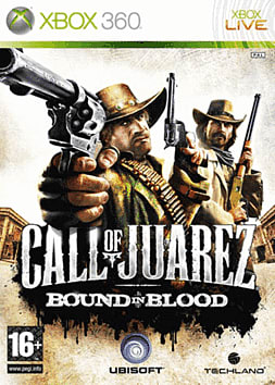Call of Juarez: Bound in Blood Xbox 360 Cover Art