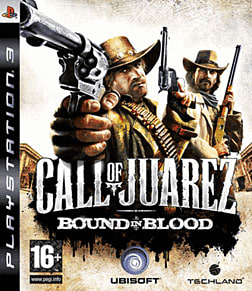 Call of Juarez: Bound in Blood PlayStation 3 Cover Art
