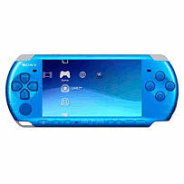 Sony PSP 3000 Vibrant Blue Console PSP