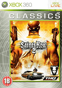 Saints Row 2 Classic Xbox 360 Cover Art