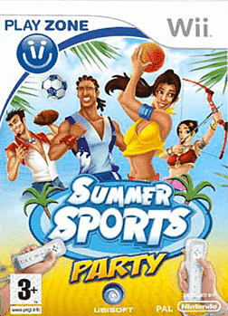 Summer Sports Party Wii Cover Art
