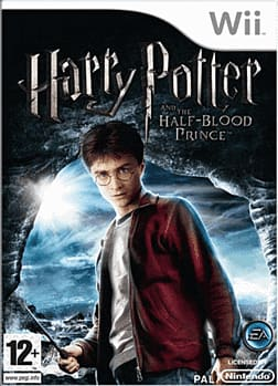 Harry Potter and the Half Blood Prince Wii Cover Art