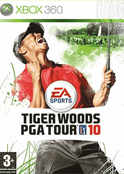 Tiger Woods PGA Tour 2010 Xbox 360 Cover Art