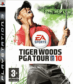 Tiger Woods PGA Tour 2010 PlayStation 3 Cover Art