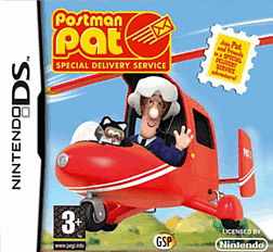 Postman Pat Special Delivery Service DSi and DS Lite Cover Art