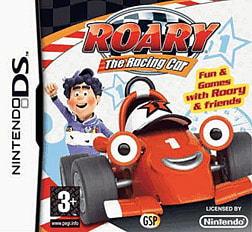 Roary the Racing Car DSi and DS Lite Cover Art