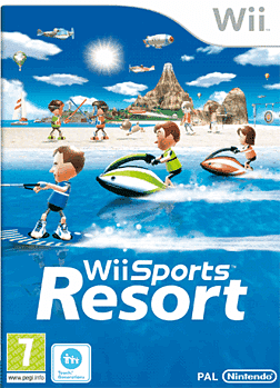 Wii Sports Resort with Wii MotionPlus Wii Cover Art
