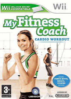 My Fitness Coach Cardio Workout Wii Cover Art