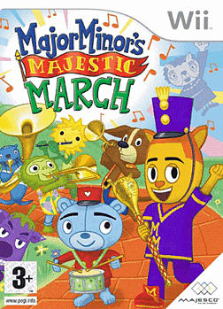 Major Minors Majestic March Wii Cover Art