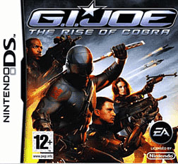 GI Joe: The Rise of the Cobra DSi and DS Lite Cover Art