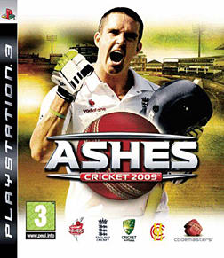 Ashes Cricket 2009 PlayStation 3 Cover Art