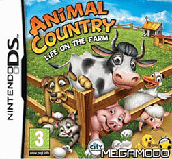 Animal Country: Life On The Farm DSi and DS Lite Cover Art