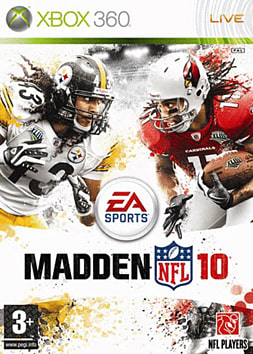 Madden NFL 10 Xbox 360 Cover Art