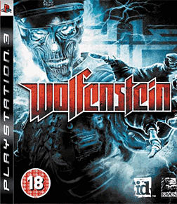 Wolfenstein PlayStation 3 Cover Art