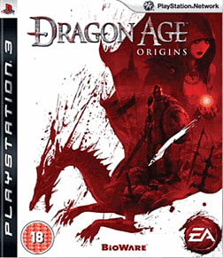 Dragon Age: Origins PlayStation 3 Cover Art
