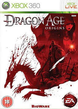 Dragon Age: Origins Xbox 360 Cover Art