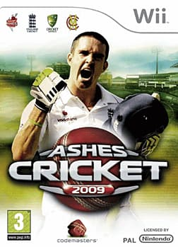 Ashes Cricket 2009 Wii Cover Art