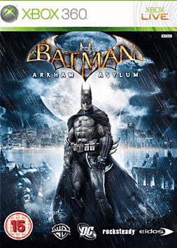 Batman: Arkham Asylum Xbox 360 Cover Art
