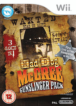Mad Dog McCree Wii Cover Art