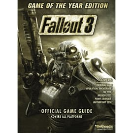 Fallout 3 Game of the Year Strategy Guide Strategy Guides and Books