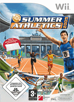 Summer Athletics 2009 Wii Cover Art