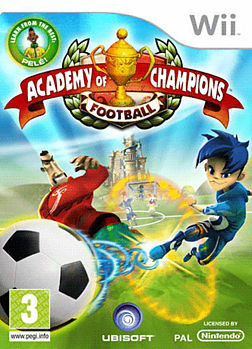 Academy of Champions Wii Cover Art