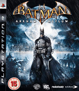 Batman: Arkham Asylum Collectors Edition PlayStation 3 Cover Art