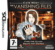Cate West: The Vanishing Files DSi and DS Lite